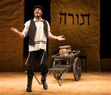 His Third Go as Tevye, His First Time in Yiddish