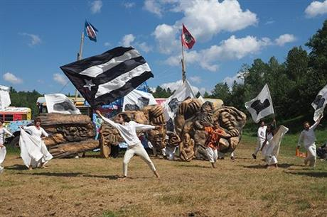 Bread and Puppet Theater: The Grasshopper Rebellion Circus