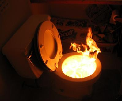 Toilet Fire: Rectums in the Rectory