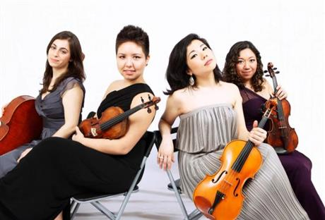 Aizuri Quartet: In Residence