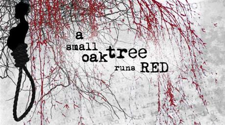 A Small Oak Tree Runs Red