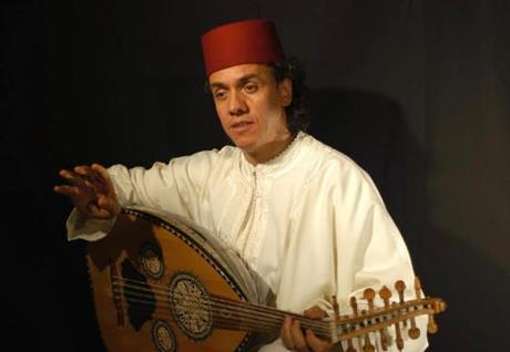 Rachid Halihal and his Orchestra: Concert of Arabic Music