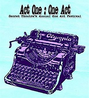 Act One: One Act Festival 2018
