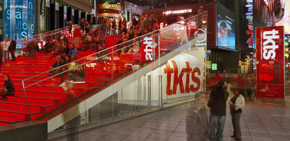 TKTS Discount Broadway Ticket Booths