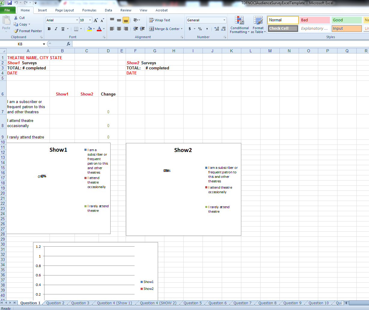 Image of Excel Sheet