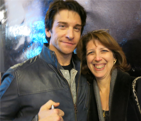 Teresa Coico with Andy Karl