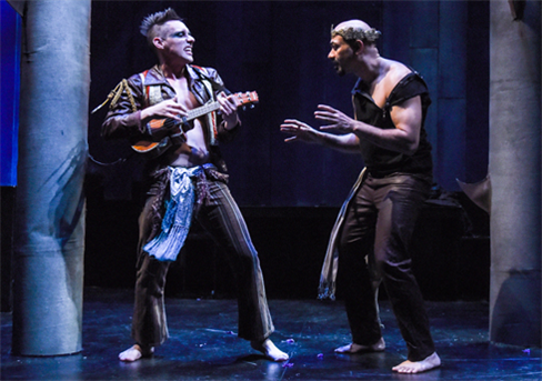 Nick Cearley and Andrew Guilarte in A Midsummer Night