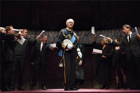 The West End cast of King Charles III (photo by Donald Cooper)