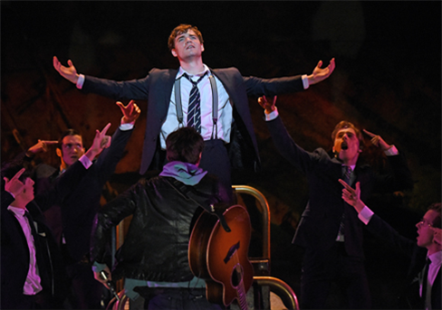 "The cast of ""Spring Awakening"""
