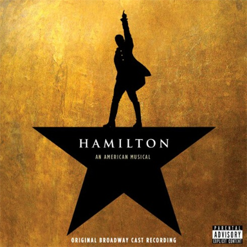 Hamilton original cast recording cover