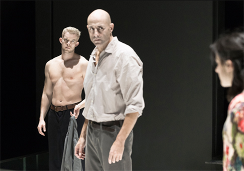Russell Tovey (left) and Mark Strong. Photo by Jan Versweyveld.
