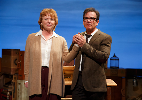 Becky Ann Baker and Peter Scolari