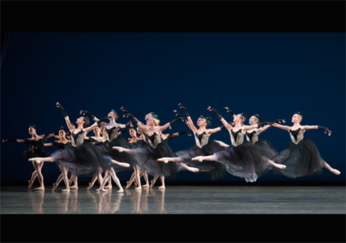 Miami City Ballet performs Ballanchine