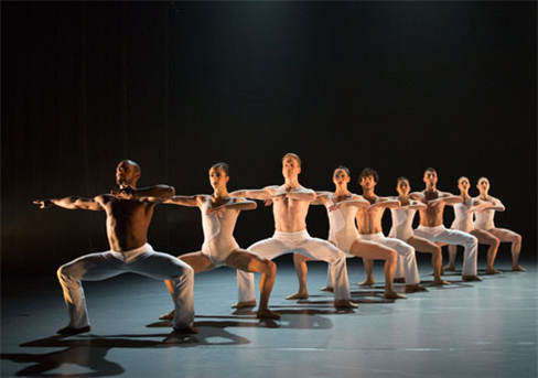BalletX dancers perform