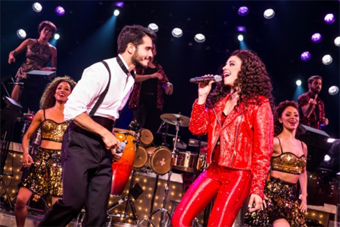Ektor Rivera and Ana Villafañe in