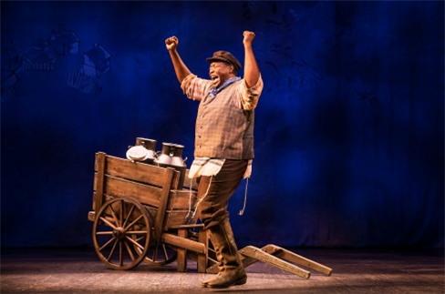 Chuck Cooper as Tevye from