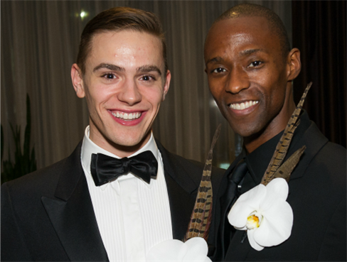 Michael Francis McBride and Samuel Lee Roberts, photo by Christopher Duggan