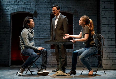 Eugene Young, Stephen Park, and Anna Chlumsky in