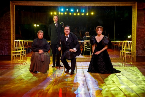 Marsha Mason, John Glover, Douglas Hodge, and Marin Mazzie in