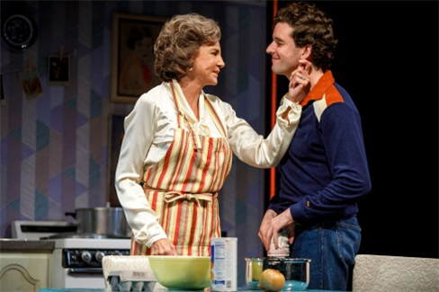Mercedes Ruehl and Michael Urie in