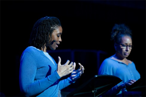 Chinasa Ogbaugu and Tamara Tunie in