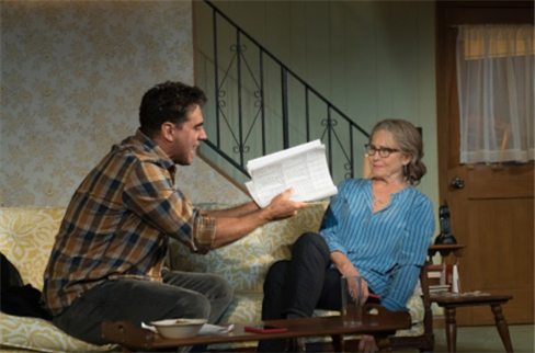 Bobby Cannavale and Cherry Jones in