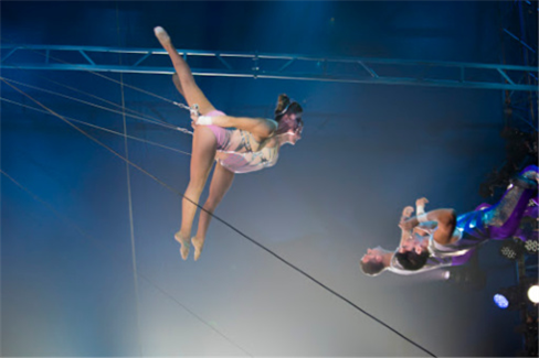 The Flying Tuniziani in the Big Apple Circus