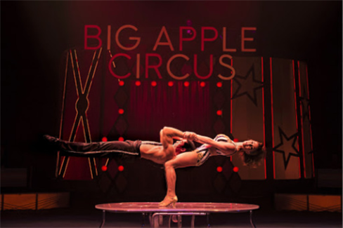 Duo Fusion in the Big Apple Circus