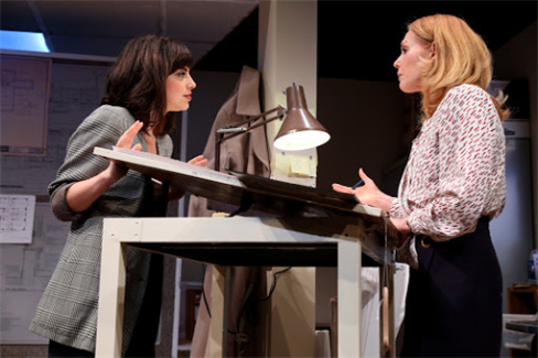 Krysta Rodriguez and Marg Helgenberger in WP Theater