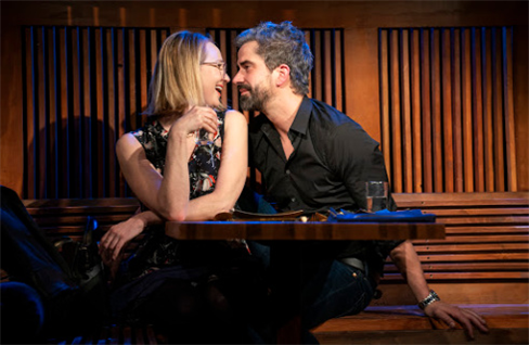 Halley Feiffer and Hamish Linklater in